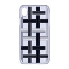 Seamless Stripe Pattern Lines Apple Iphone Xr Seamless Case (white)