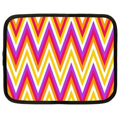 Chevrons Stripes Pattern Geometric Netbook Case (large)