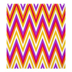 Chevrons Stripes Pattern Geometric Shower Curtain 66  X 72  (large)