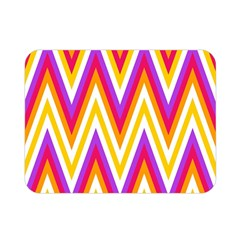Chevrons Stripes Pattern Geometric Double Sided Flano Blanket (mini)