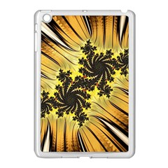 Fractal Art Colorful Pattern Apple Ipad Mini Case (white)