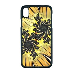 Fractal Art Colorful Pattern Apple Iphone Xr Seamless Case (black)
