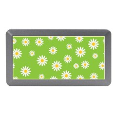Daisy Flowers Floral Wallpaper Memory Card Reader (mini) by Pakrebo