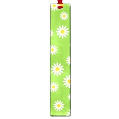 Daisy Flowers Floral Wallpaper Large Book Marks by Pakrebo