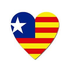 Flag Of Estado Aragonés Heart Magnet by abbeyz71