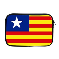 Flag Of Estado Aragonés Apple Macbook Pro 17  Zipper Case by abbeyz71