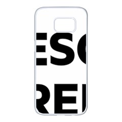 Logo Of Esquerra Republicana De Catalunya Samsung Galaxy S7 Edge White Seamless Case by abbeyz71