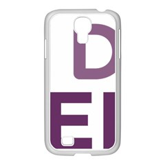 Logo Of Unidos Podemos Electoral Alliance (spain) Samsung Galaxy S4 I9500/ I9505 Case (white) by abbeyz71