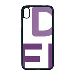 Logo Of Unidos Podemos Electoral Alliance (spain) Apple Iphone Xr Seamless Case (black)