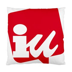 Logo Of United Left Political Coalition Of Spain Standard Cushion Case (one Side) by abbeyz71
