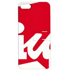 Logo Of United Left Political Coalition Of Spain Apple Iphone 5 Hardshell Case With Stand by abbeyz71