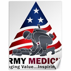 U S  Army Medicine Logo Canvas 18  X 24  by abbeyz71