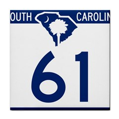 South Carolina Highway 61 Tile Coasters by abbeyz71