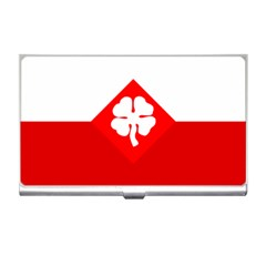 Flag Of Fourth United States Army Business Card Holder by abbeyz71