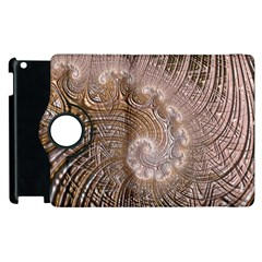 Fractal Art Pattern 3d Artwork Apple Ipad 3/4 Flip 360 Case by Pakrebo