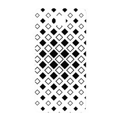 Square Diagonal Pattern Monochrome Samsung Galaxy Alpha Hardshell Back Case