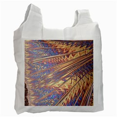 Flourish Artwork Fractal Expanding Recycle Bag (one Side)