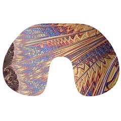 Flourish Artwork Fractal Expanding Travel Neck Pillows