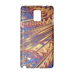 Flourish Artwork Fractal Expanding Samsung Galaxy Note 4 Hardshell Case