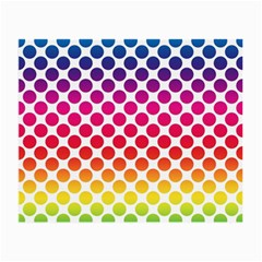 Polka Dots Spectrum Colours Dots Small Glasses Cloth (2 Side) by Pakrebo