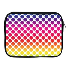 Polka Dots Spectrum Colours Dots Apple Ipad 2/3/4 Zipper Cases by Pakrebo