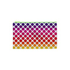 Polka Dots Spectrum Colours Dots Cosmetic Bag (xs)