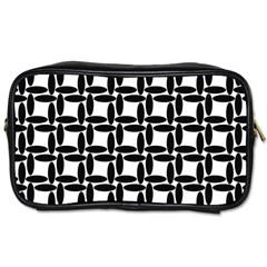 Ellipse Pattern Background Toiletries Bag (two Sides)