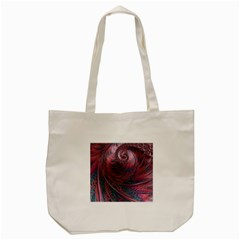Fractal Artwork Digital Pattern Tote Bag (cream)