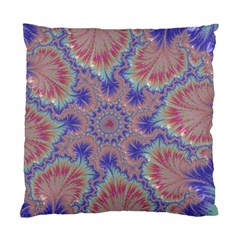 Purple Splat Fractal Art Standard Cushion Case (one Side)