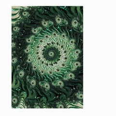 Fractal Art Spiral Mathematical Large Garden Flag (two Sides)