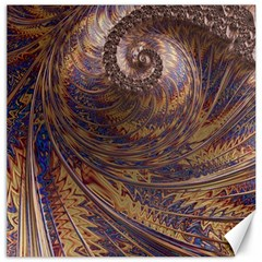 Swirl Fractal Fantasy Whirl Canvas 12  X 12