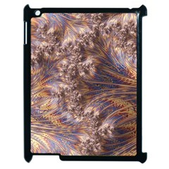 Puckered Fractal Artwork Design Apple Ipad 2 Case (black)