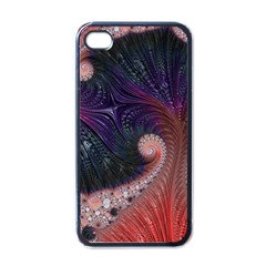 Fractal Art Artwork Design Apple Iphone 4 Case (black)