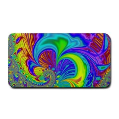 Fractal Neon Art Artwork Fantasy Medium Bar Mats