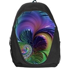 Fractal Artwork Art Swirl Vortex Backpack Bag