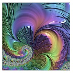 Fractal Artwork Art Swirl Vortex Large Satin Scarf (square)