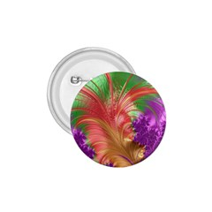 Fractal Purple Green Orange Yellow 1 75  Buttons