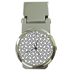 Pattern Monochrome Repeat Money Clip Watches