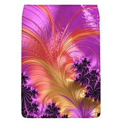 Fractal Puffy Feather Art Artwork Removable Flap Cover (s)