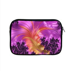 Fractal Puffy Feather Art Artwork Apple Macbook Pro 15  Zipper Case by Pakrebo