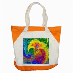 Fractal Bright Exploding Brilliant Accent Tote Bag