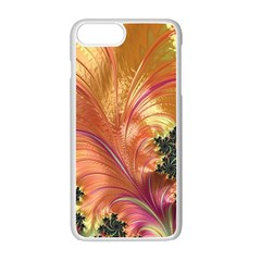 Fractal Feather Artwork Art Apple Iphone 7 Plus Seamless Case (white) by Pakrebo