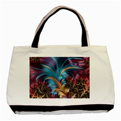 Fractal Art Artwork Psychedelic Basic Tote Bag (two Sides)