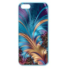 Fractal Art Artwork Psychedelic Apple Seamless Iphone 5 Case (color)