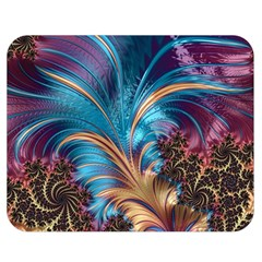 Fractal Art Artwork Psychedelic Double Sided Flano Blanket (medium)  by Pakrebo