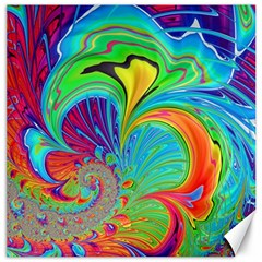 Fractal Art Psychedelic Fantasy Canvas 16  X 16
