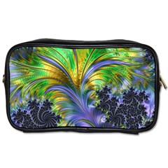 Fractal Gothic Dark Texture Toiletries Bag (two Sides)