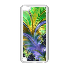 Fractal Gothic Dark Texture Apple Ipod Touch 5 Case (white)