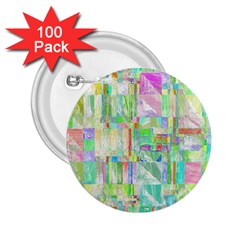 Pastel Quilt Background Texture 2 25  Buttons (100 Pack)
