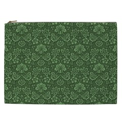 Damask Pattern Victorian Vintage Cosmetic Bag (xxl)